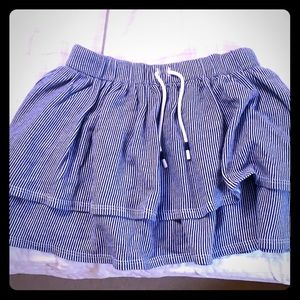 Girls Lacoste skirt